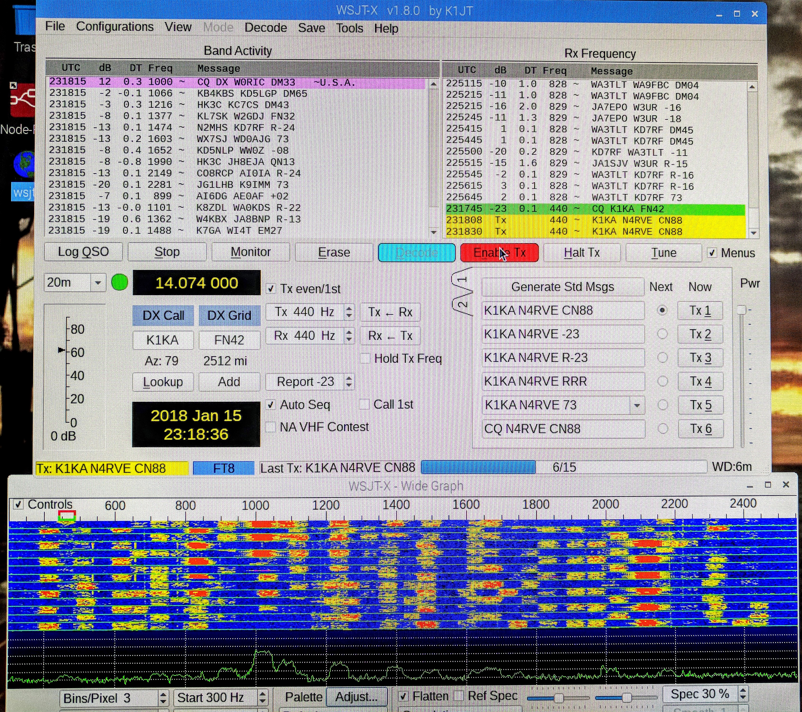 Maritime Mobile Ft8 Amateur Radio Nomadic Research Labs