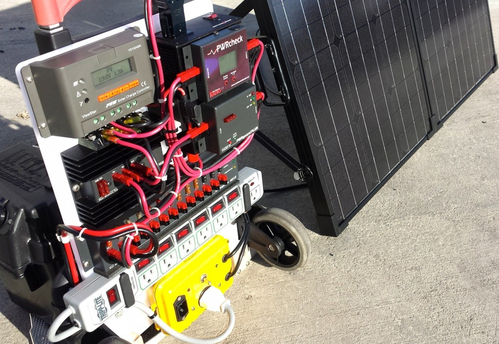 Datawake Power Cart Solar Test